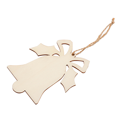 XMAS BELL decoration, beige
