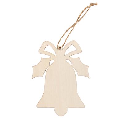 XMAS BELL decoration, beige