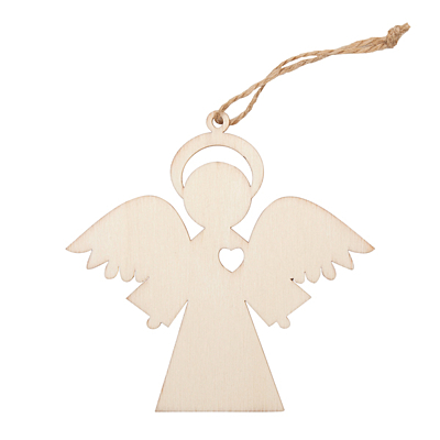 ANGEL decoration, beige